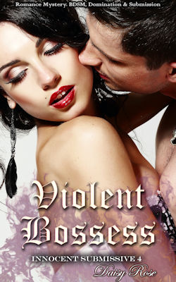 cover design for the book entitled Violent Bosses