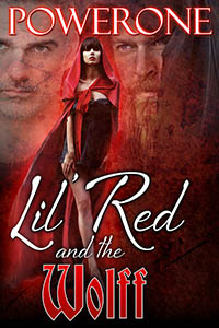 cover design for the book entitled LIL RED AND THE WOLFF
