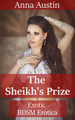 cover design for the book entitled The Sheikh