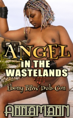 cover design for the book entitled Angel In The Wastelands