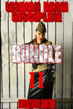 cover design for the book entitled Lesbian BDSM Discipline Bundle II
