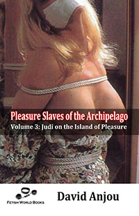 cover design for the book entitled Pleasure Slaves of the Archipelago - Volume 3