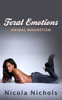 cover design for the book entitled Feral Emotions