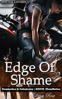 cover design for the book entitled Edge of Shame