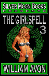 cover design for the book entitled The Girlspell - Book 3
