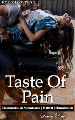 cover design for the book entitled Taste Of Pain