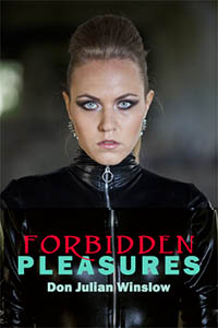 cover design for the book entitled Forbidden Pleasures