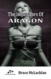 cover design for the book entitled The Inquisitors Of Aragon