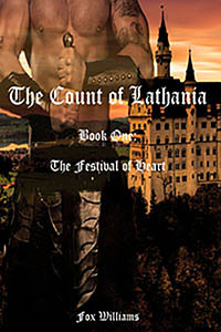 cover design for the book entitled The Count of Lathania