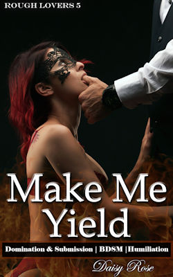 cover design for the book entitled Make Me Yield