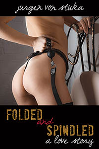 cover design for the book entitled Folded & Spindled
