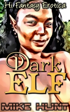 cover design for the book entitled Dark Elf