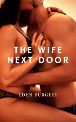 cover design for the book entitled The Wife Next Door