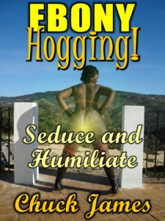 cover design for the book entitled Ebony Hogging