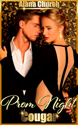 cover design for the book entitled Prom Night Cougar