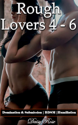 cover design for the book entitled Rough Lovers 4 - 6