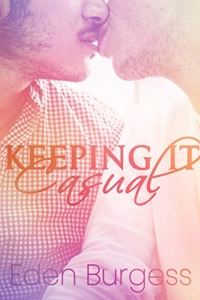 cover design for the book entitled Keeping It Casual