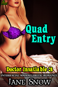 cover design for the book entitled Quad Entry
