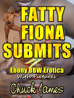 cover design for the book entitled Fatty Fiona Submits