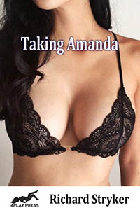 cover design for the book entitled Taking Amanda