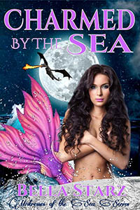 cover design for the book entitled Charmed By The Sea