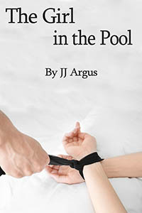 cover design for the book entitled The Girl In The Pool