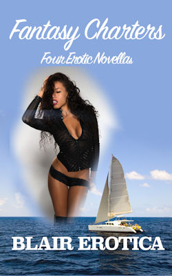 cover design for the book entitled Fantasy Charters: Four Erotic Novellas