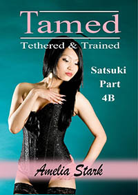 cover design for the book entitled Tamed Tethered & Trained: Part 4B