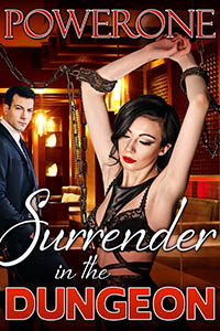 cover design for the book entitled Surrender in the Dungeon