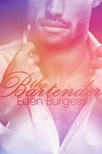 cover design for the book entitled The Bartender