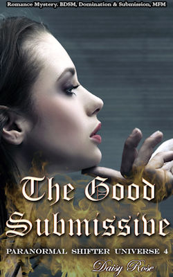 cover design for the book entitled The Good Submissive