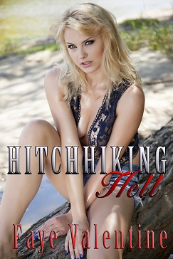 cover design for the book entitled Hitchhiking Hell