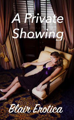 cover design for the book entitled A Private Showing