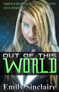 cover design for the book entitled Out of this World