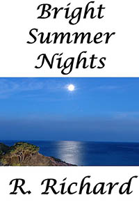 cover design for the book entitled Bright Summer Nights