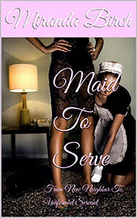 cover design for the book entitled Maid To Serve