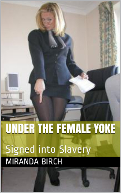 cover design for the book entitled Under the Female Yoke