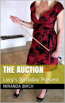 cover design for the book entitled The Auction