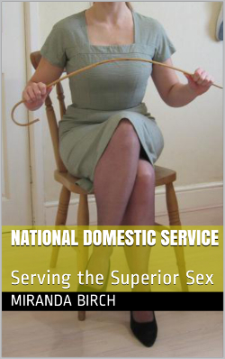 cover design for the book entitled National Domestic Service