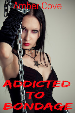 cover design for the book entitled Addicted To Bondage