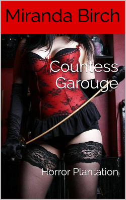 cover design for the book entitled Countess Garouge
