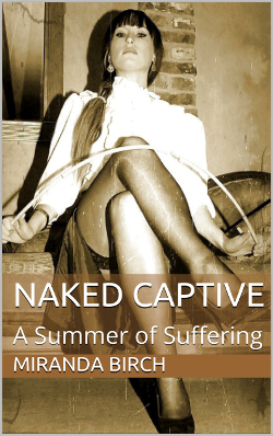 cover design for the book entitled Naked Captive