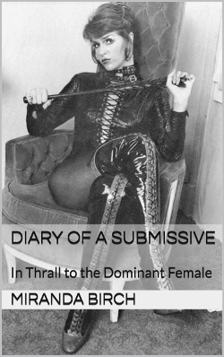 cover design for the book entitled Diary of a Submissive