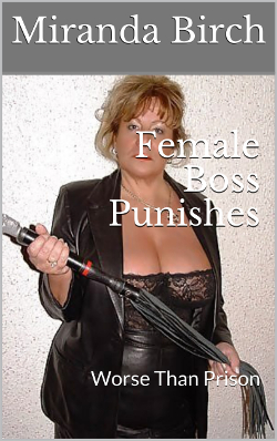 cover design for the book entitled Female Boss Punishes