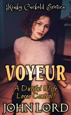 cover design for the book entitled Voyeur