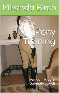 cover design for the book entitled Pony Training