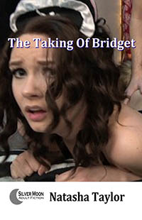 cover design for the book entitled The TAKING of Bridget