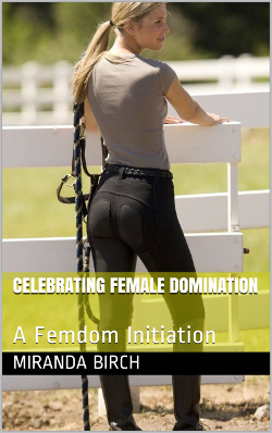 cover design for the book entitled Celebrating Female Domination