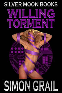 cover design for the book entitled Willing Torment