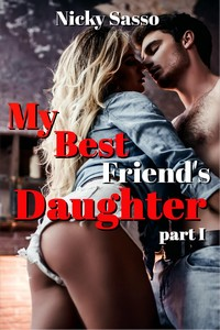 cover design for the book entitled My Best Friend's Daughter